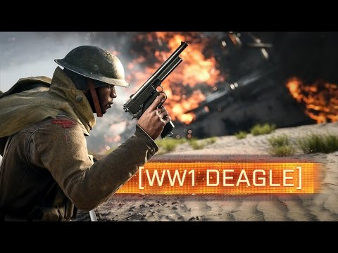 ► THE DEAGLE OF WORLD WAR 1! - Battlefield 1