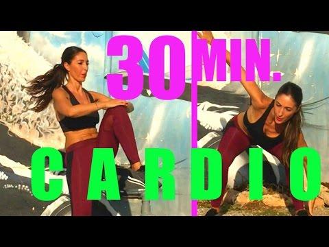 Reducir Cintura y Abdomen | Rutina Cardio en 30 Minutos