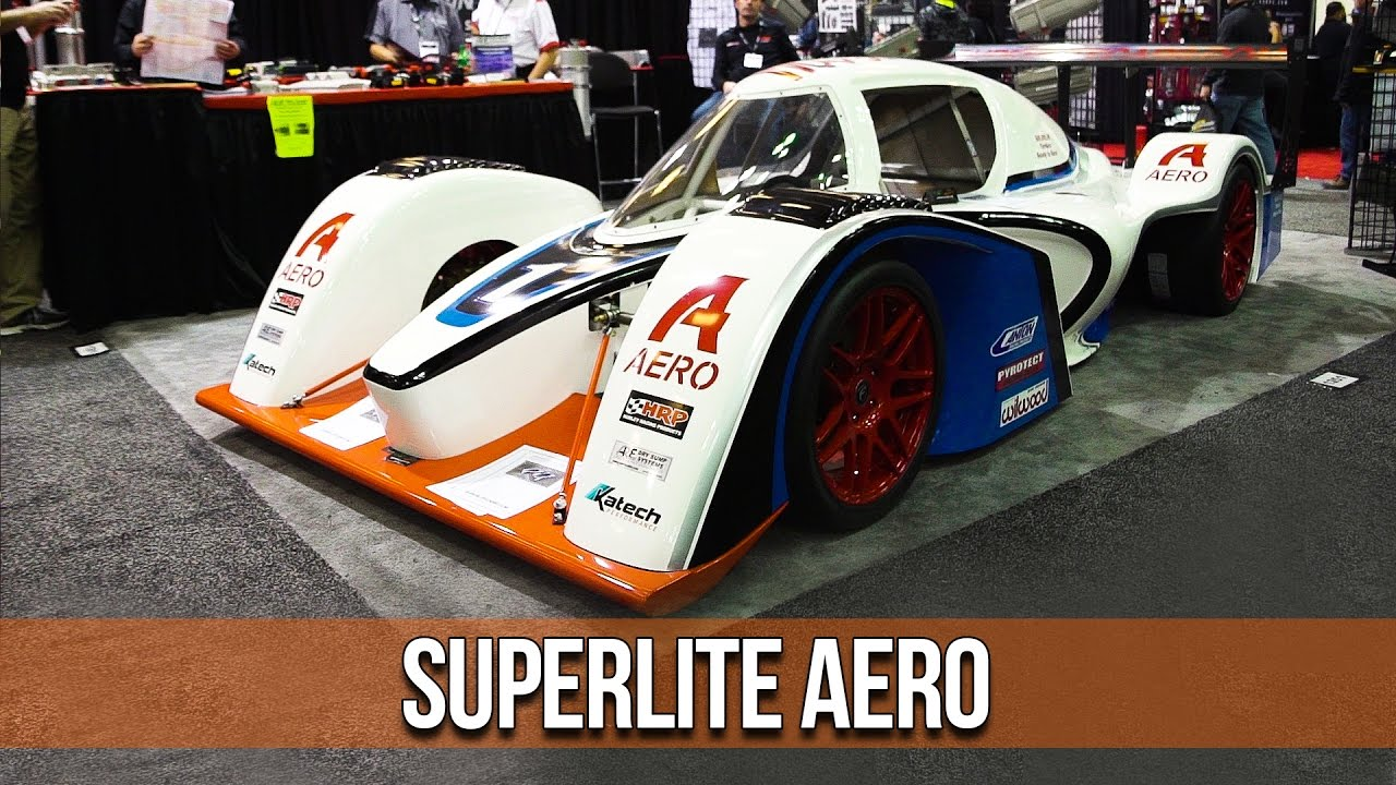 Superlite Aero: LS3 Powered LMP Race Car from Superlite Cars