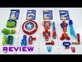 [REVIEW] Nerf Assembler Gear   Marvel Avengers: Infinity War!