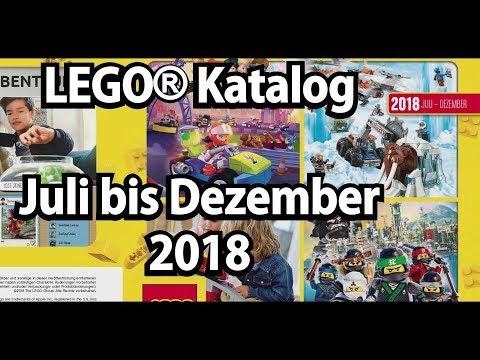 LEGO Katalog Juli bis Dezember 2018 (2. Halbjahr 2018 kommentiert)