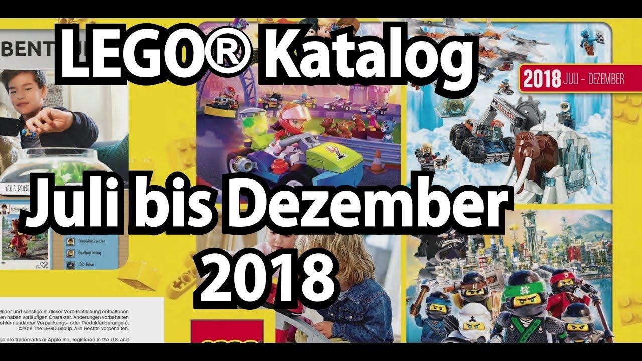 LEGO Katalog Juli bis Dezember 2018 (2. Halbjahr 2018 ...
