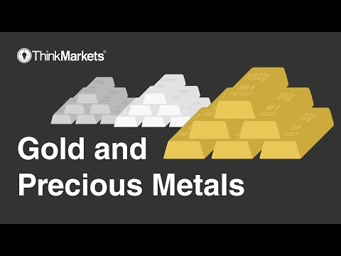 Trading Gold and precious metals with ThinkMarkets Australia