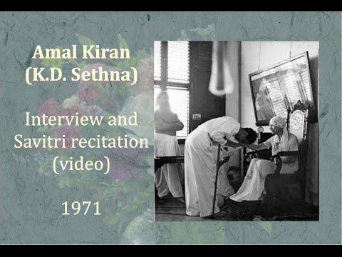Amal Kiran - An Interview