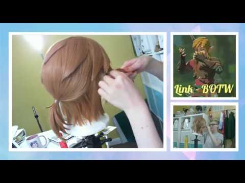 Breath Of The Wild Link Cosplay Wig Styling Livestream Voyager Costume