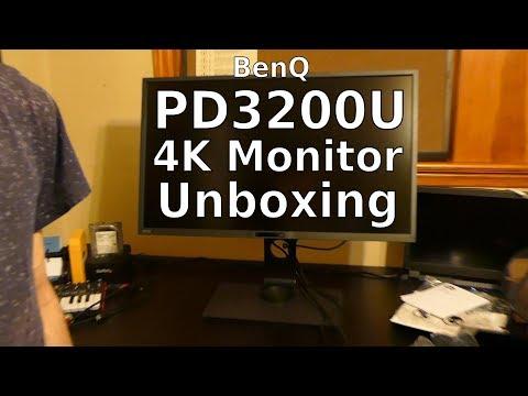 BenQ PD3200U 4K Monitor Unboxing