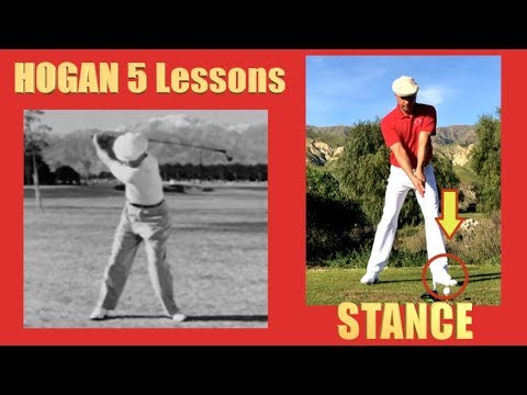 BEN HOGAN 5 LESSONS #2 The Stance
