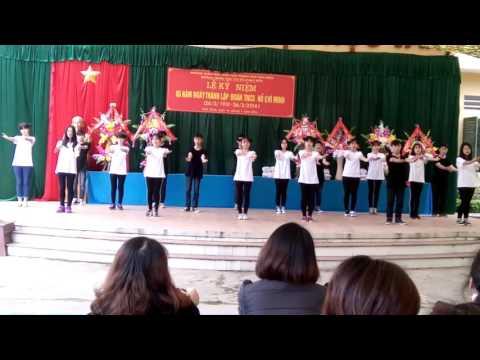 9a2 - lqđ - hb . Cuộc thi vũ điệu xanh