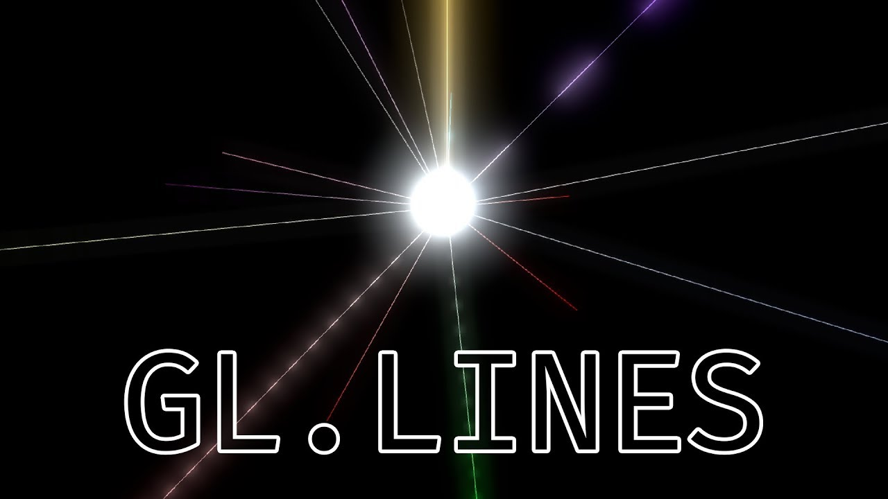 Gl Lines Drawing Manually In Unity