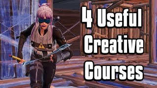 4 Useful Aim & Edit Courses To Help You Improve! - Fortnite Battle Royale