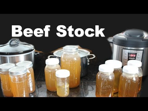 How To Make Beef Stock In Any Kitchen (Instant Pot, Slow Cooker, Stock Pot)