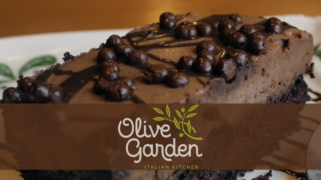 Something Sweet Olive Garden Chocolate Mousse Cake Youtube