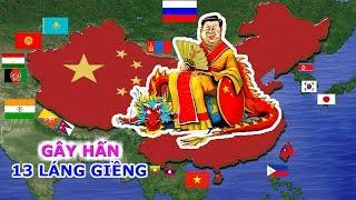 14 Nước Láng Giềng, Trung Quốc Gây Hấn Với 13 Nước