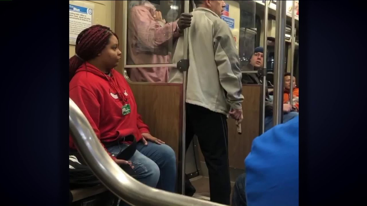 'It matters to me': Video shows Good Samaritan take gun from robber on Blue Line train