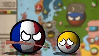 Наполеоновские войны в Countryballs #1 - Нападение
