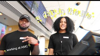 a day in the life | working at AMC