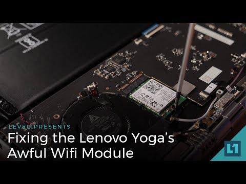 Fixing the Lenovo Yoga's Awful Wifi Module