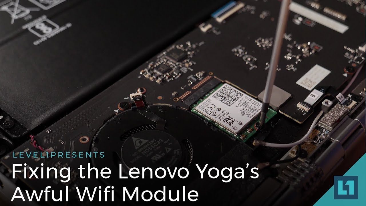 Fixing the Lenovo Yoga's Awful Wifi Module