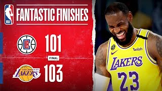 Clippers at <b>Lakers</b> CLASSIC Ends In Dramatic Fashion!