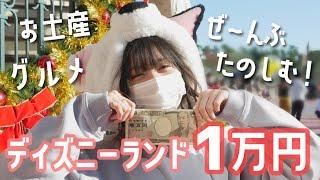 【1万円企画】ディズニーランド1万円だけで1日遊んだらめちゃくちゃ楽しめた♡