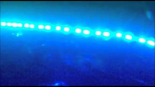 Arduino RGB led music lights test