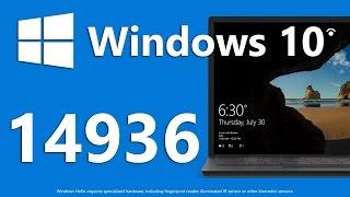 Windows 10 Build 14936 – Новый Проводник (Modern), WiFi Calling, Turn Off the Lights
