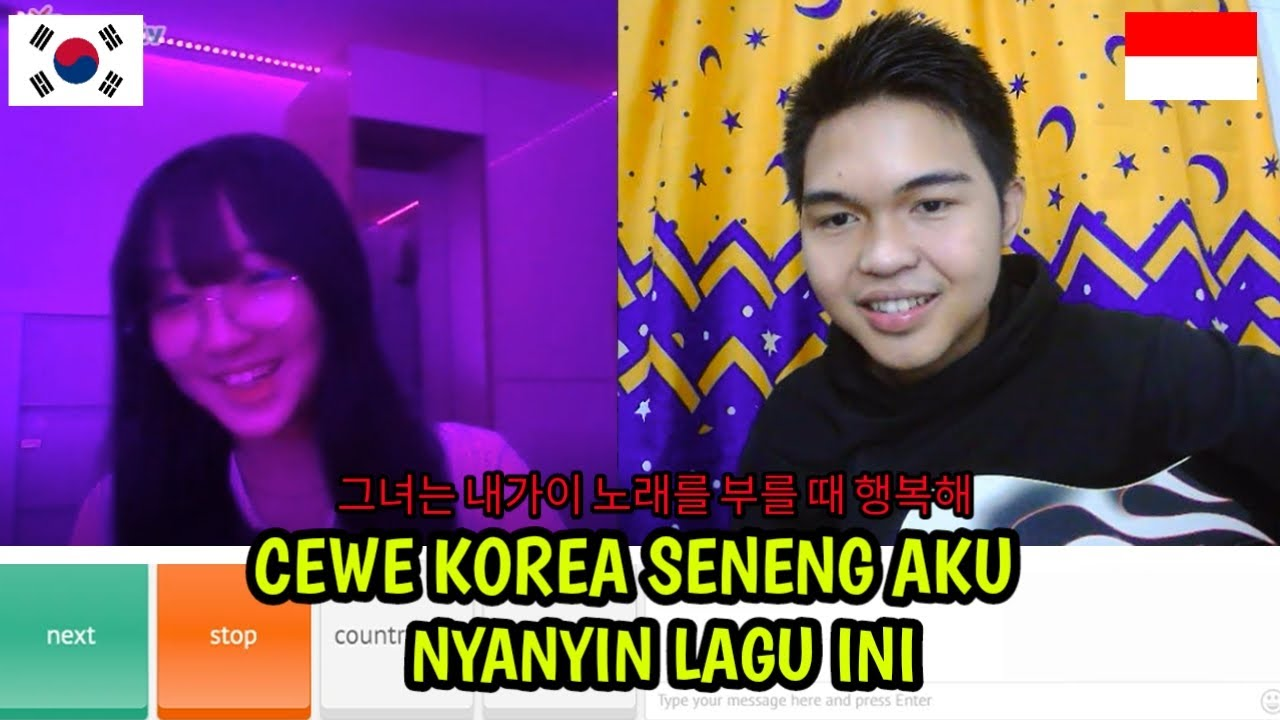 Download Cewe Korea Aku Nyanyiin Lagu ini   Ome. Tv Internasional