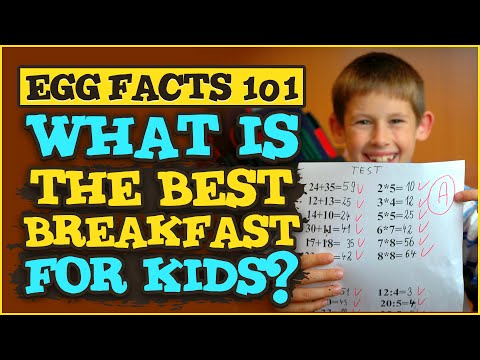 Egg Facts 101: How to make a brain-healthy kids egg breakfast by Gemperle Farms