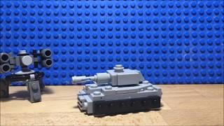 Огляд LEGO саморобок #10 (Міні танк №2!)