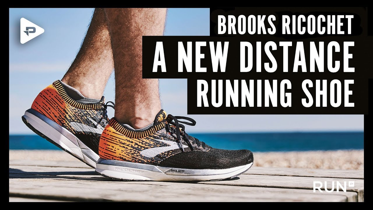 Brooks Ricochet a new distance running shoe