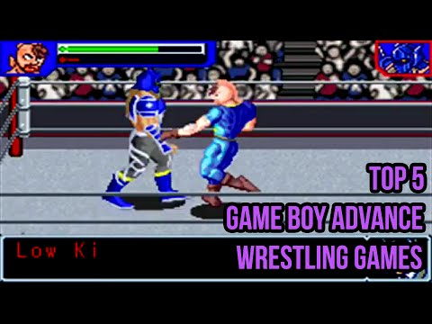 Top 5 Game Boy Advance Wrestling Games Youtube