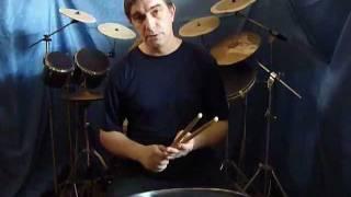 Владимир Прокофьев барабаны видеоурок №4
