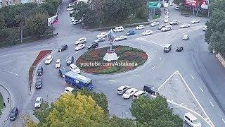 Astakada Владивосток ДТП 27 сентября 2018 Кольцо Инструментального завода