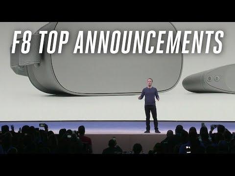 F8 2018: Facebook's top announcements