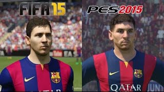 FIFA 15 VS PES 2015 - PS4 GAMEPLAY - 1080P