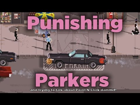 Punishing the Crappy Parkers in Beat Cop |