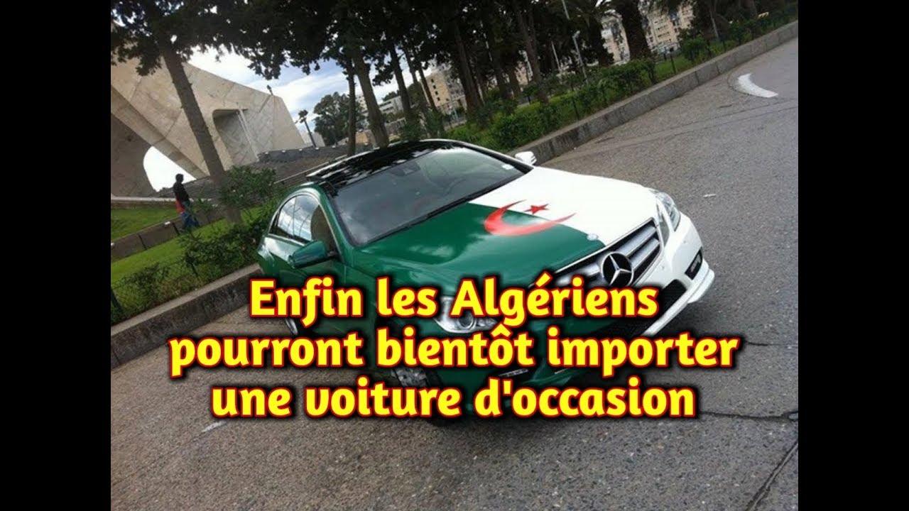 l'importation des voitures d'occasion à l'algérie, une ...