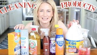 My Favorite Household Cleaning Products & Tools | MsGoldgirl