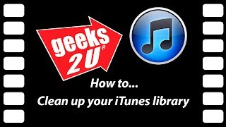 managing your itunes library a how to by geeks2u