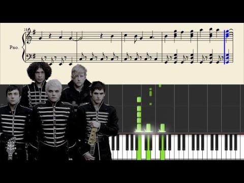 My Chemical Romance - Dead! - Piano Tutorial