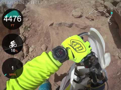 Moab dirt bike trip, Jean Crew, May 2017