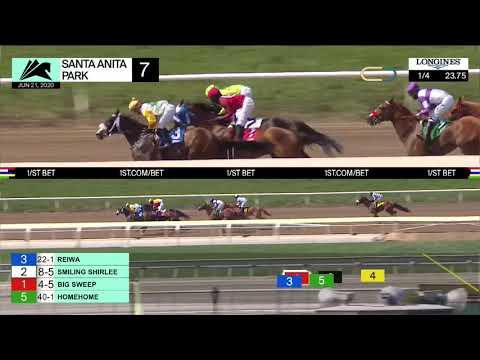 Santa Anita Park Carrera 7 (The Melair Stakes) - 21 De Junio 2020