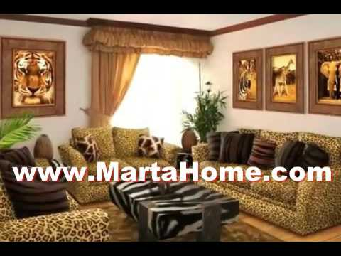 12 Small Spaces African Living Room