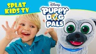 Puppy Dog Pals Adventure Pal Bingo