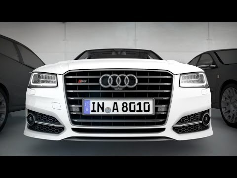 2015 Audi S8 ► Active Safety demo [CES 2014]
