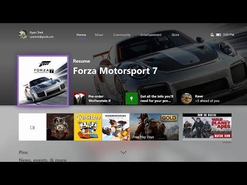 Xbox Update, October 2017