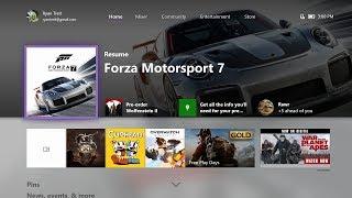 Xbox Update October 2017