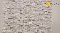 Mini Split Face Stone Tile Carrara - 120SAPSSSCA