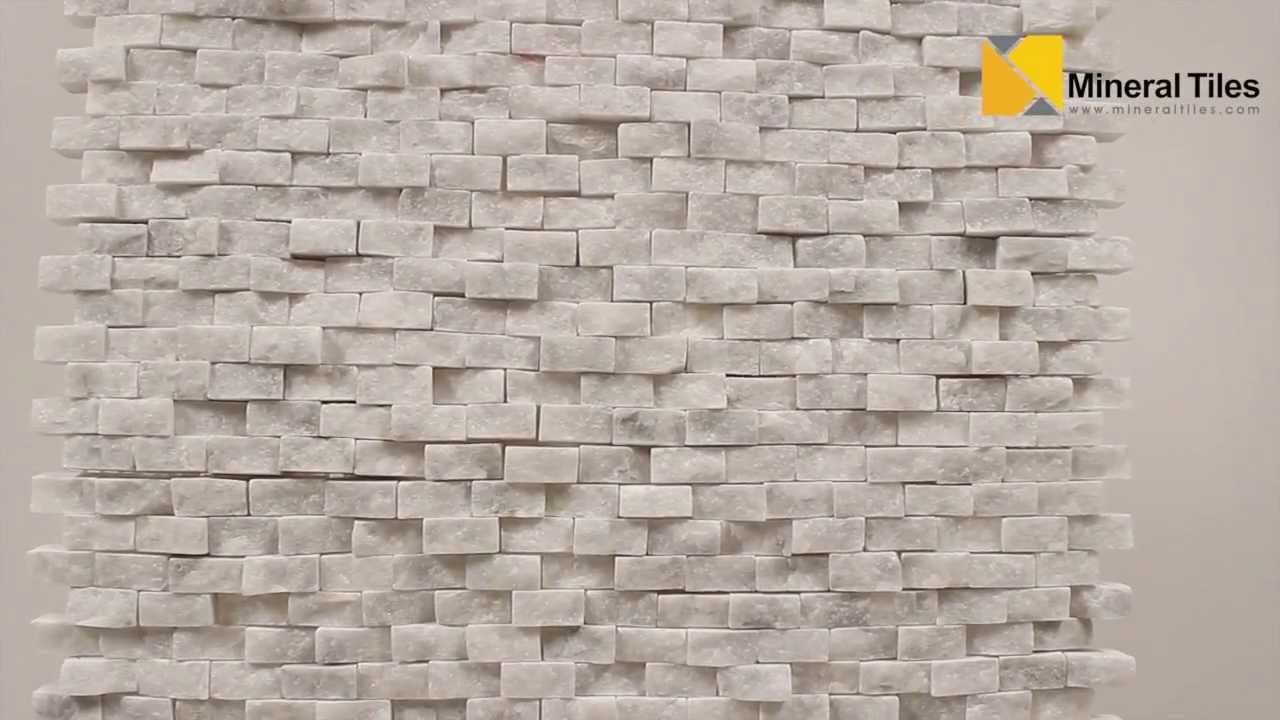 Mini Split Face Stone Tile Carrara 120sapsssca Youtube