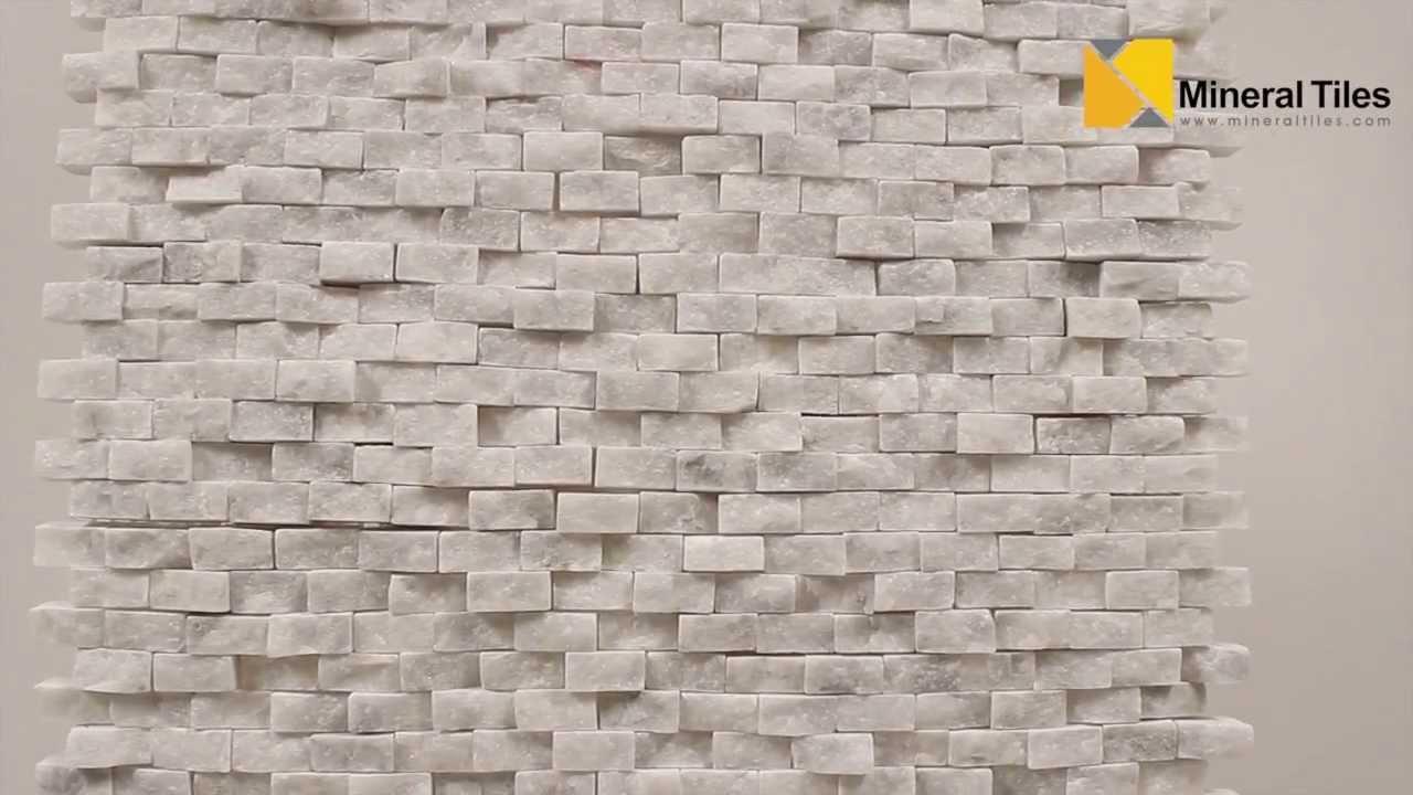 mini split face stone tile carrara 120sapsssca